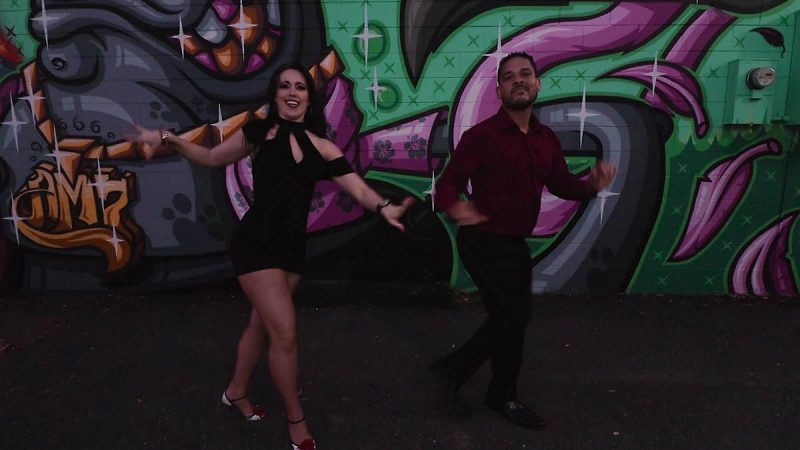 Tate & Gio Social Dance Video #2 - DfD Shotz_Moment